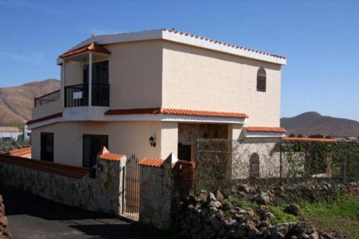 Rustikale Villa mit Panoramablick