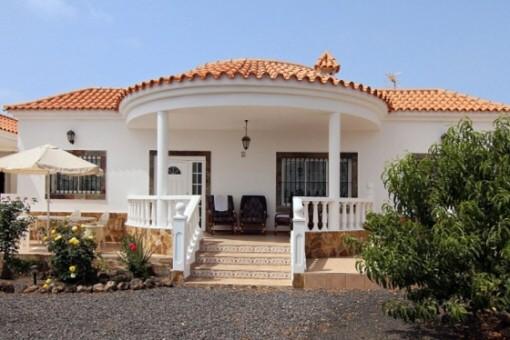 Charmante Villa mit großer Terrasse in La Oliva, Fuerteventura
