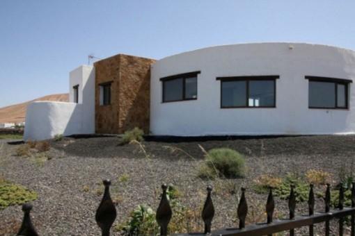 Moderne Villa mit fantastischem Ausblick auf großem Grundstück in Villaverde, Fuerteventura Nord