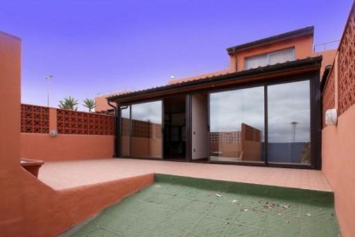 Bungalow mit tollem Ausblick in Caleta de Fuste, Fuerteventura