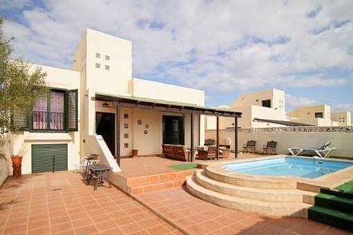 Bezaubernde Villa mit privatem Pool in Strandnähe in Corralejo