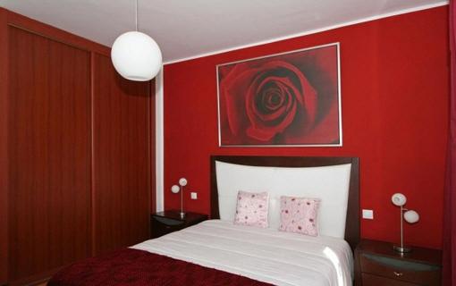 Eines der 3 komfortablen Schlafzimmer