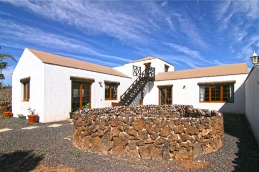 Einzigartige Villa mit fantastischem Ausblick in Villaverde, Fuerteventura