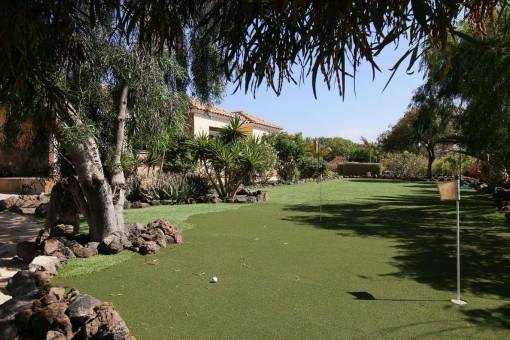 Privater Golfplatz