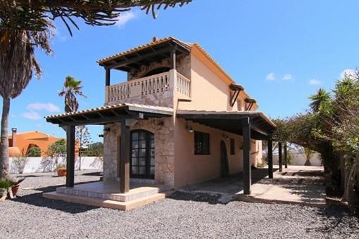 Freistehende Villa in ruhiger Lage in Lajares