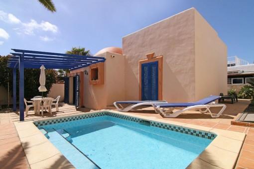 Freistehendes Haus mit Pool in Corralejo, Fuerteventura