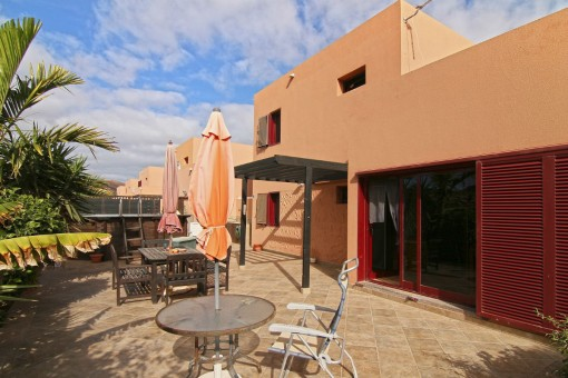 Beschauliches Haus mit Pool in Corralejo, Fuerteventura