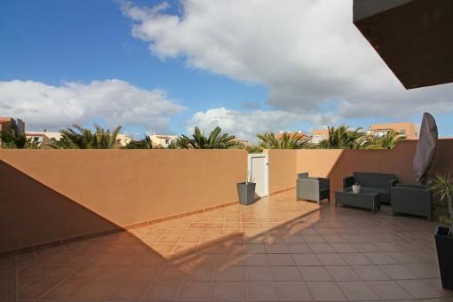 Dachterrasse mit tollem Ausblick