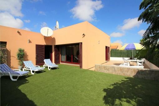 Gepflegte Finca mit Gemeinschaftspool in Corralejo