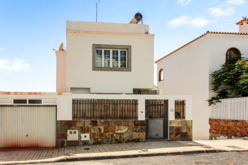 Einfamilienhaus mit herrlichem Meerblick in San Fernando, Maspalomas
