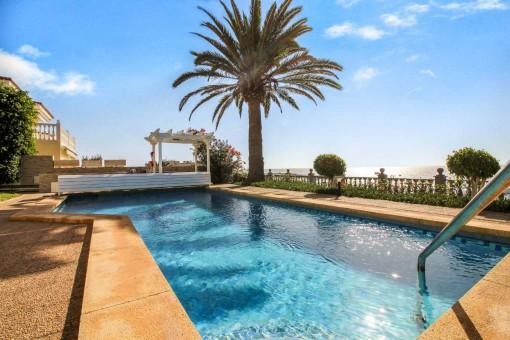 Exklusives freistehendes Einfamilienhaus mit einzigartigem Meerblick in Arguineguin, Gran Canaria